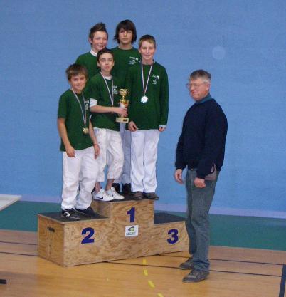 Equipe jeune (benjamins, minimes, cadets)