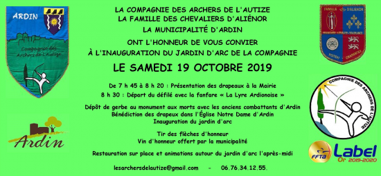 Inauguration 19 oct 2019 pour site